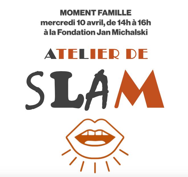 Moment famille : atelier de slam