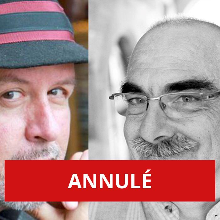 ANNULÉ – Atelier d'écriture à quatre mains avec les auteurs valaisans Nicolas Couchepin et Pierre-André Milhit