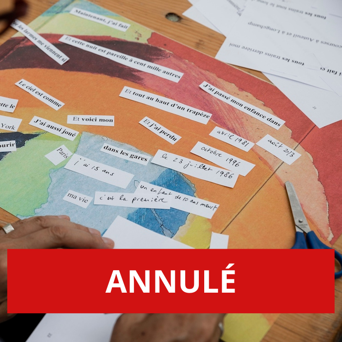 ANNULÉ – C'est la prose ! – Atelier créatif dès 10 ans autour de la Prose du Transsibérien de Blaise Cendrars