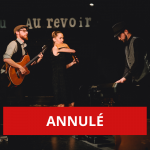 ANNULÉ - Cendrars, fugues et inventions - un spectacle de Tangora Trio