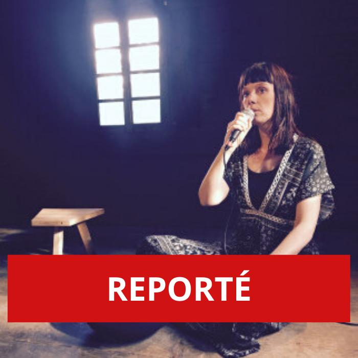 REPORTÉ – «Ether», une performance poétique d'Aline Chappuis à l'Hôpital de Martigny
