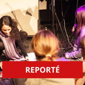 REPORTÉ - Poésie en musique: écriture et chant d'un poème, un atelier à vivre en famille