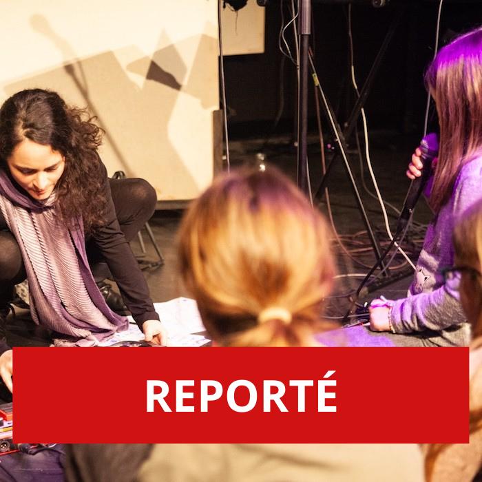 REPORTÉ – Poésie en musique: écriture et chant d'un poème, un atelier à vivre en famille