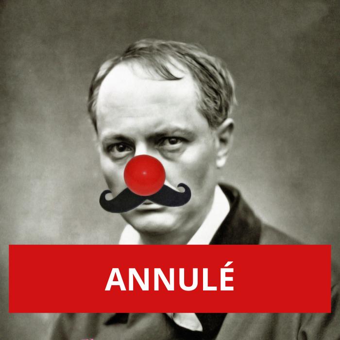 ANNULÉ – Vive la poésie comique !