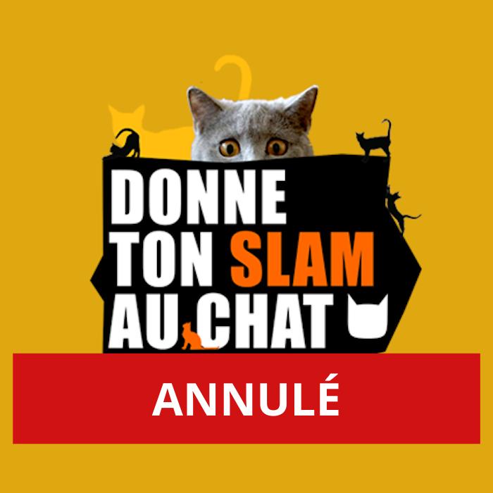 ANNULÉ – Donne ton slam au Chat ! – scène ouverte à Genève