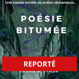 """REPORTÉ - Poésie Bitumée, balade """"slam"""" à travers Genève"""