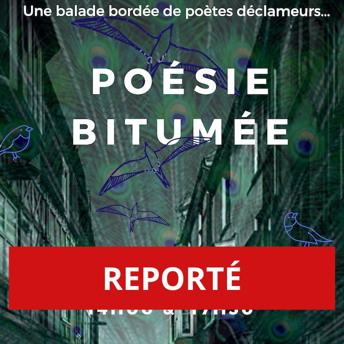 REPORTÉ – Poésie Bitumée, balade «slam» à travers Genève