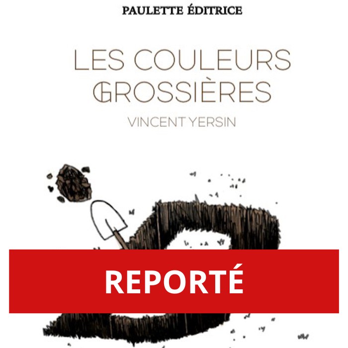 REPORTÉ – «Les couleurs grossières», le dernier recueil de Vincent Yersin mis en musique