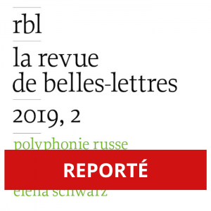REPORTÉ - Polyphonie de la poésie russe contemporaine