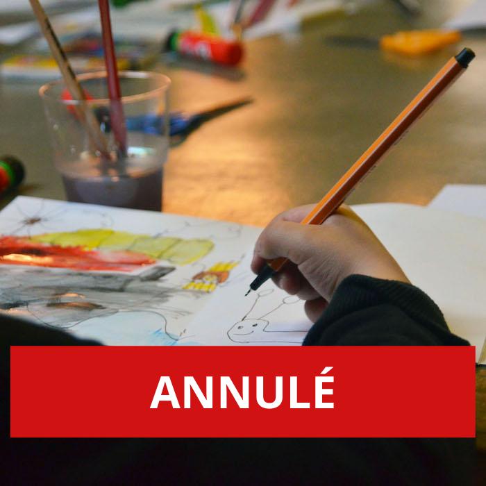 ANNULÉ – Bricolages poétiques- atelier pour jeune public