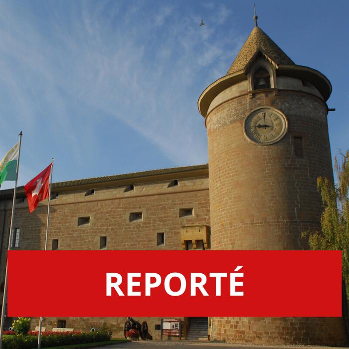REPORTÉ – Une déambulation «slam» entre les murs du château de Morges
