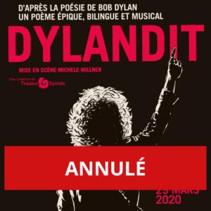 ANNULÉ - DYLANDIT, un spectacle théâtral et musical d'après la poésie de Bob Dylan